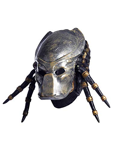 Rubie's Costume Co Aliensvspredatorrequiemwithdeluxeoverheadpredatormask, Gray, -