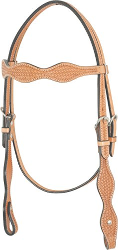 Western Rawhide 224006-76 Scalloped Brow ()