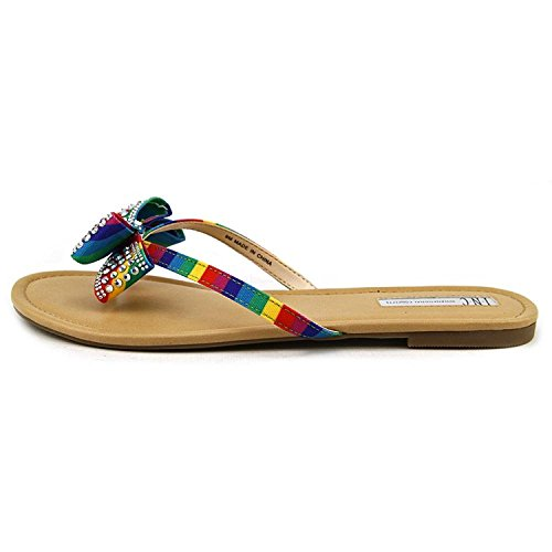 INC International Concepts Womens Malissa Open Toe, Bright Multi, Size 9.0 from INC International Concepts