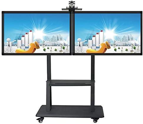 XUE Soporte para televisor, para Pantallas Planas de Plasma de 32-65 Pulgadas LED LCD 360º de Giratorio Ajuste de Altura Oficina: Amazon.es: Hogar