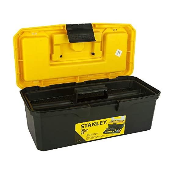 STANLEY 1-71-948 13'' Organised Maestro Tool Box with Clear top lid 3