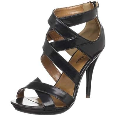 Amazon.com | Michael Antonio Women's Tina Platform Sandal