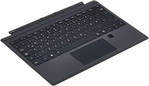 Microsoft RH7-00006 - Teclado para Microsoft Surface Pro 4 (USB, Lector de Huella Digital), Color Negro - Teclado QWERTZ Alemania