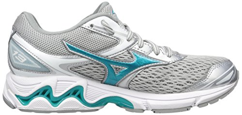 Griffin Shoes Tile Silver Blue Wave Inspire Women's Mizuno 13 Running 2A aqpHa