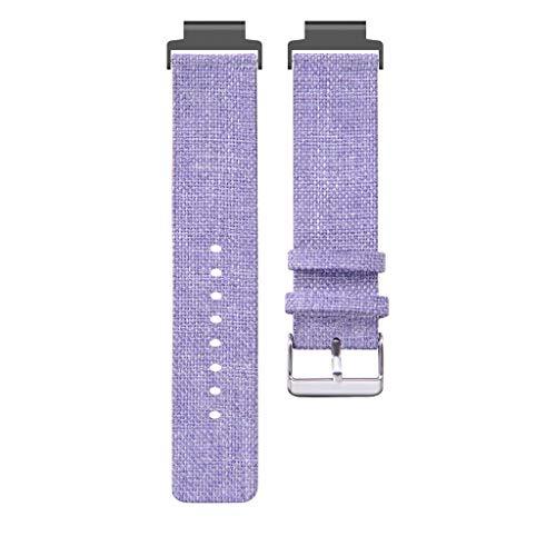 VICCKI Women Fabric Watch Band WristStrap for Garmin Forerunner 220 230 235 630 620 735