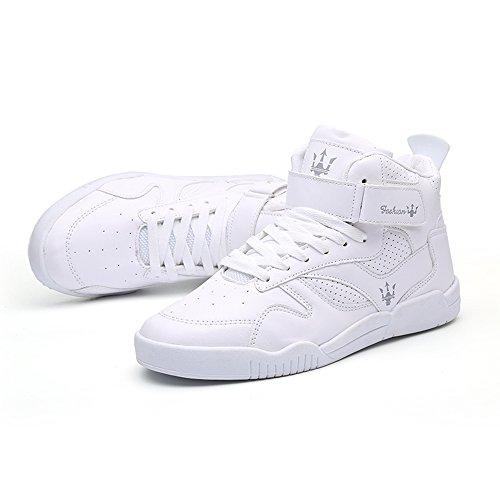 39 da FZUU Scarpe Bianco Top Casual Sneaker 44 High Scarpe Uomo U8W5ZwqT8