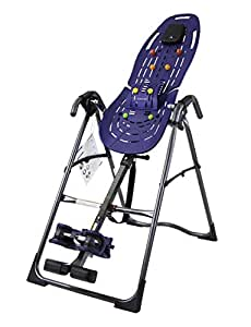 Teeter EP-560 Inversion Table with Back Pain Relief, Blue/Titanium (Certified Refurbished)