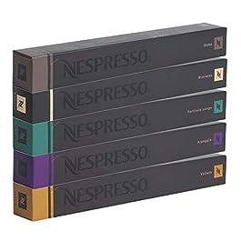 Nespresso – Cápsulas originales – Café surtido, 50 cápsulas – 10 Café Roma – 10 Café Ristretto – 10 Café Fortissio – 10…