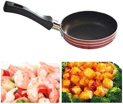Practical Non-Stick pan XLCG Pan Mini antiadhésifs Pratique poignée Convient Petit déjeuner œufs Charybde et Faire Le Petit déjeuner Accueil Cuisine