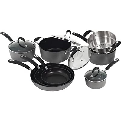 Starfrit 030926-001-NEW1 La Forge 12-Piece Aluminum Cookware Set