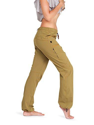 "Ucraft ""Xlite Women's Rock Climbing and Bouldering Pants (410 S,Woman, Mustard)"