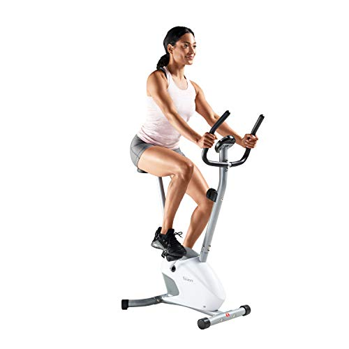 Velocity Exercise Gray Magnetic Upright Exercise Bike