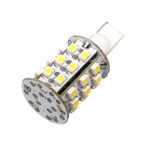 Hqrp 4 Pack T10 Wedge Base 30 Leds Smd 3528 Led Bulbs Warm White For 194 168 Cruiser Rv Fun