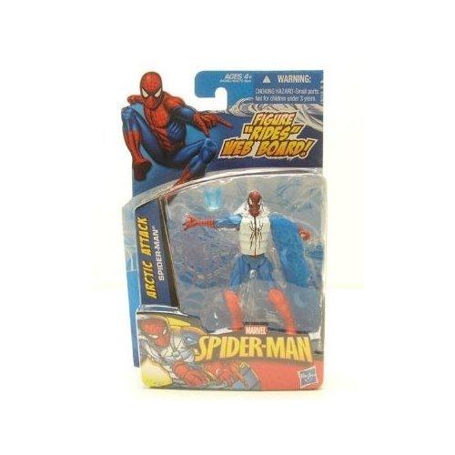 """Spider-Man 2011 3.75"""" Series 01 - Arctic Attack Spider-Man"""