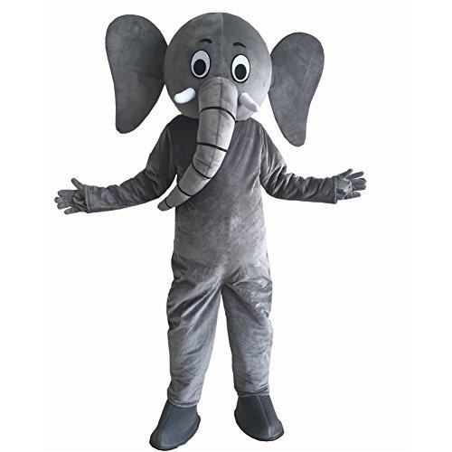 SHUISHOU Elephant Mascot Costume Party Dress Adult