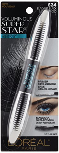 Buy L'Oreal Paris Cosmetics Voluminous Superstar Waterproof Mascara, Blackest Black, 0.4 Fluid Ounce Online at Low Prices in India - Amazon.in