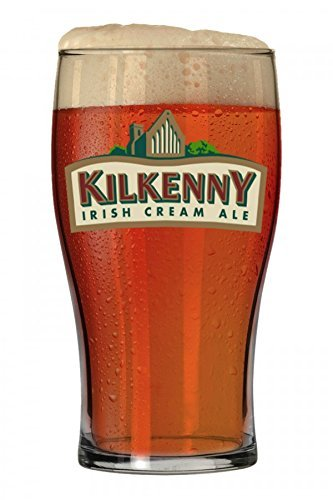 Imported Glass (Kilkenny Irish Cream Ale Signature Pub Glass by Guinness)