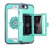 Best NOKEA Waterproof iPhone 4 Cases - NOKEA Wallet Case Compatible with iPhone 7 Plus/8 Review