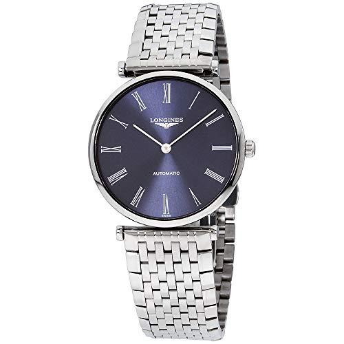 Longines La Grande Classique Blue Dial Stainless Steel Men's Watch L49084946 ()