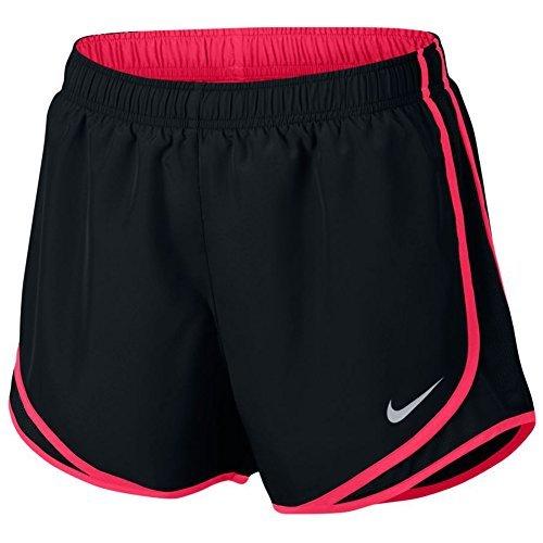 ntrast Trim Running Shorts Black S ()
