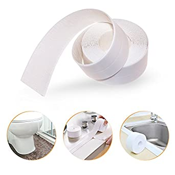 PE Bath and Shower Self Adhesive Caulk Strip, Tub and Wall Sealing ...