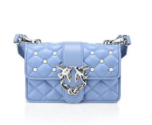 Mini Pearls Y4HP Blue PINKO BAG Light Love E91 1P212P Bw6Rx5qUWO
