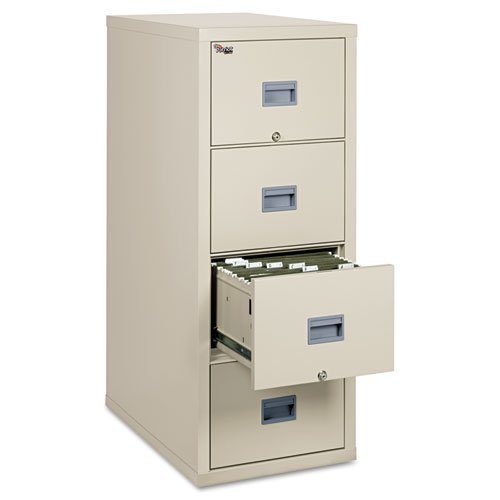FireKing Patriot Series 4-Dr Vertical Fire Files-Fire Proof Filing Cab, 4-Drwr, 17-3/4