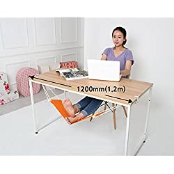 Yofit Put your foot up on the hammock under the desk comfortable for Your foot (Orange)