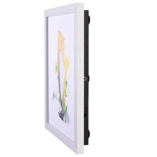 Wireless Flat Panel Bluetooth SpeakerJunan 360 HD Surround Sound & Bass Home&Office Wall/Bookshelf /Tabletop Picture Frame Speakers Distributed Mode Full screen dot matrix source voice Loudspeaker