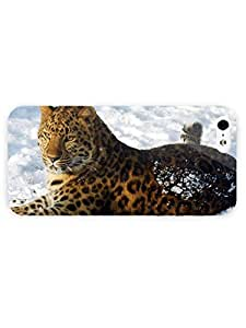 3d Full Wrap Case for iPhone 5/5s Animal Amur Leopard