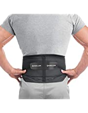 Mueller Lumbar Support Back Brace with Removable Pad