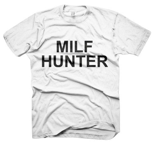 Starlite-Mens Funny Tshirts- Tshirts Milf Hunter T-Shirts-funny gifts