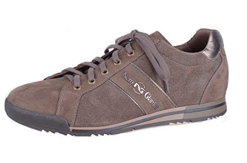 Nero Giardini Sneaker in Camoscio Uomo A201440U Nabuk Verdegris