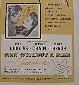 MAN WITHOUT A STAR (1955) NTSC-IMPORTED FOR ALL REGIONS