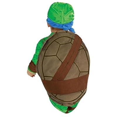 Rubies Teenage Mutant Ninja Turtles Leonardo Toddler Costume 3T/4T: Clothing