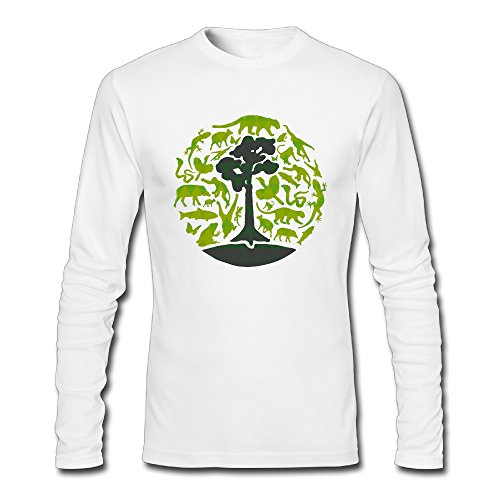 funny-tree-and-animals-men-long-sleeve-t-shirts
