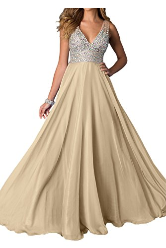 Mit Jugendweihe V Zahlreichen Braut Ausschnitt Steine Kleider Abendkleider Partykleider La Damen Burgundy Champagner mia USaqva
