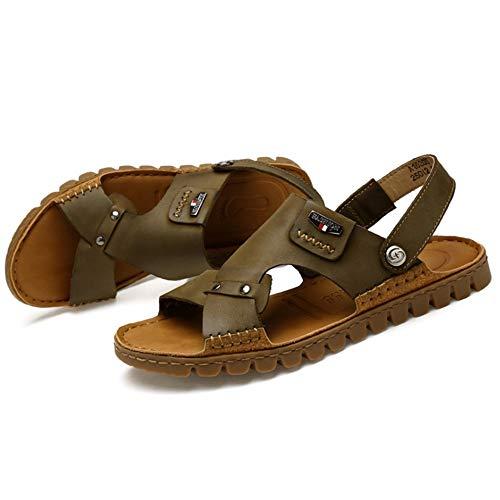 da Verde 3 Estate Da Spiaggia pantofole Antiscivolo EU Verde 41 Colore spiaggia Wagsiyi Leggero 1 Sandali Dimensione Uomo All'aria Sport Aperta Sandali Scarpe fORSCwqa