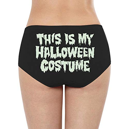 (Woman Comfortable Underwear This is My Halloween Costume Trendy G String)