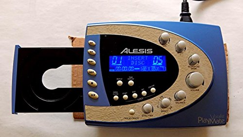 Alesis Playmate Vocalist Vocal Processor With CD Player - Alesis 2004 - Vintage Used Recording Studio Gear Graded 9.4 - Includes Power Cord - No Warranty No User Guide Available
