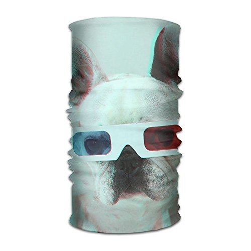 Headbands Headwear Bandana French Bulldog Scarf Wrap Mask Sweatband Outdoor Headscarve -