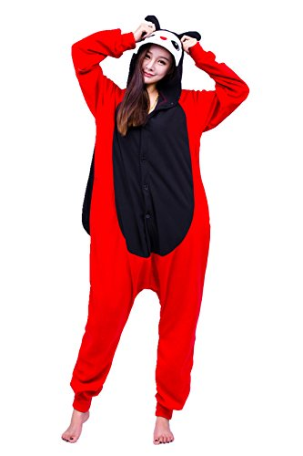 Ladybug Costume Images (Ladybug Adult Costume Polar Fleece Cartoon Cosplay Jumpsuit)