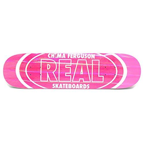 受粉者大佐盟主REAL DECK リアル デッキ CHIMA FERGUSON HOLOGRAPHIC OVAL 7.75 スケートボード スケボー SKATEBOARD