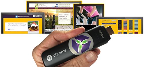 SmartSign2go Digital Signage Player, Turns any TV into a Sign! Simple Cloud-based Software for Non-Technical People. Google Chromebit Player, Custom Design and 2-week Software Trial Included! Digital Sign