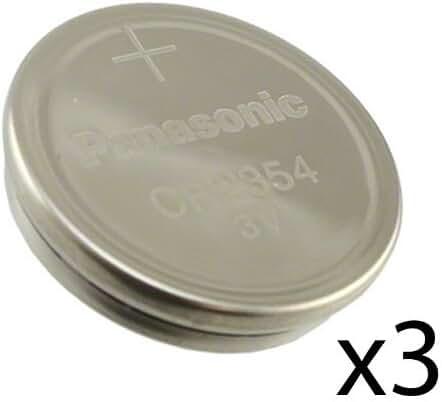 [ Pack of 3 ] Panasonic CR2354 2354 CR 2354 3V lithium BATTERIES