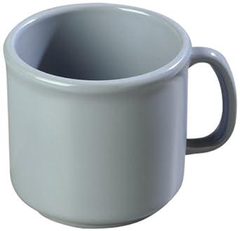 Carlisle 4305214 Ocean Blue 10-oz. Stackable Mug (Case of 12)