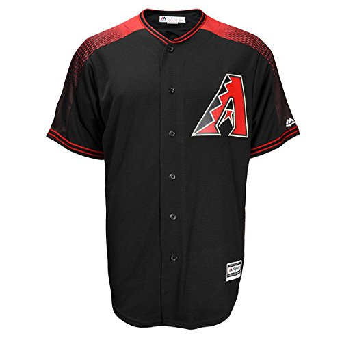 Zack Greinke Arizona Diamondbacks #21 MLB Men's Official Cool Base Player Jersey Black (Game Official Mlb Baseball Jersey)
