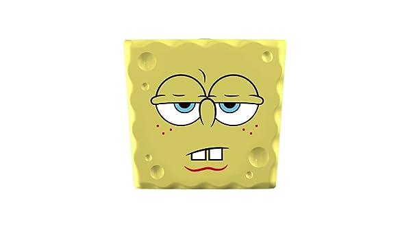 FLIPPER 11504 SpongeBob Good Morning - Soporte de cepillo de dientes (5 cm, fijación por ventosa), diseño de Bob Esponja de mal humor: Amazon.es: Hogar
