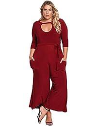 Amazoncom Plus Size Womens Jumpsuits