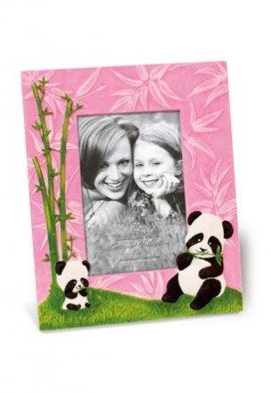Pandas Pink Designer Photo Frame 4x6 - Picture Panda Frame